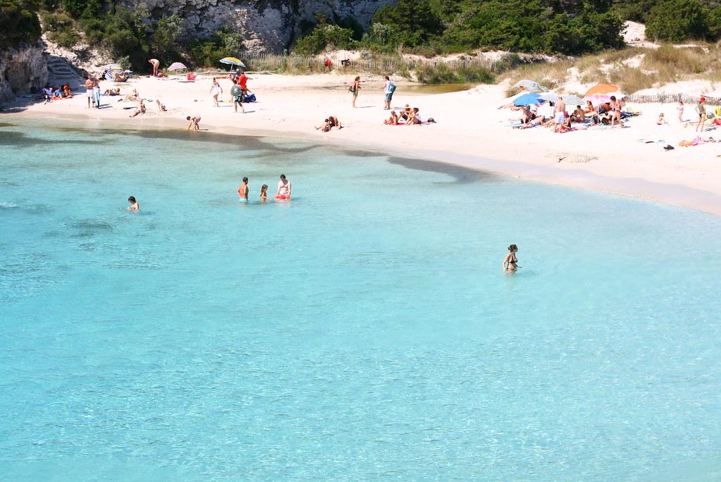 пляж корсика спероне