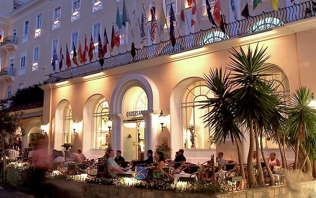 Grand Hotel Quisisana Capri Italy The Grand Hotel Quisis Flickr