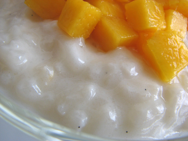 Coconut Rice Pudding with Mango | pastrystudio.blogspot.com ...