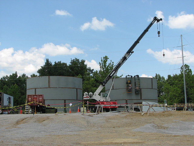 Water Tank Destruction : Blue grass chemical agent destruction pilot plant water