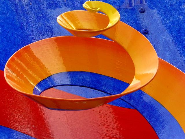 Pop art spiral in SCHWERIN