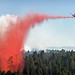 Small photo of Taylor Fire air support drops slurry