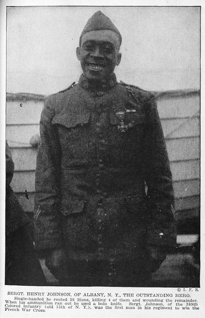 Sergt. Henry Johnson, of Albany N.Y., the outstanding hero; ...