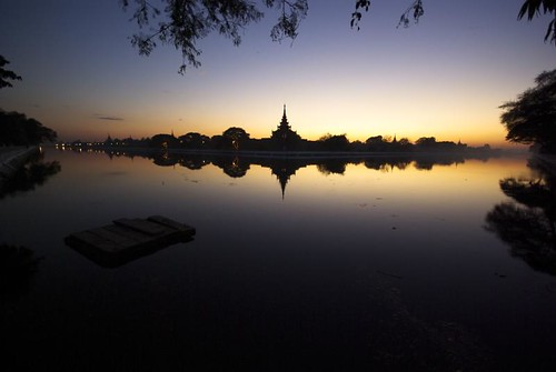 sunset sun soleil burma coucher sunsets myanmar coucherdesoleil birmanie goldstaraward