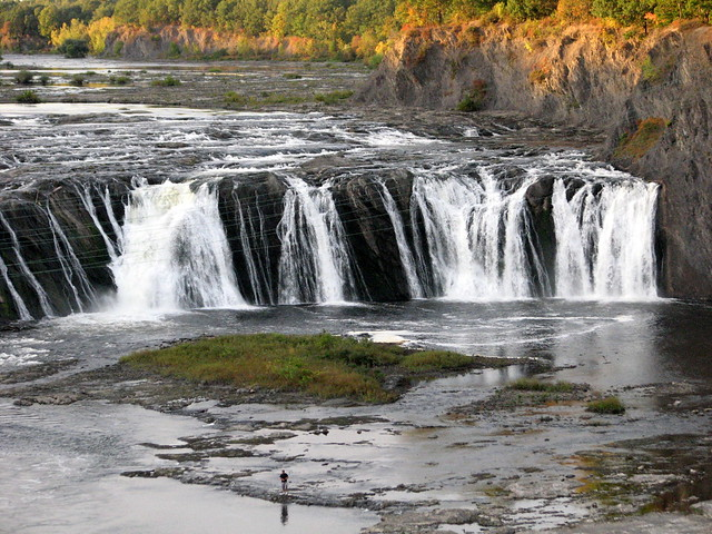 Cohoes Falls on the Mohawk River, Cohoes NY 2896