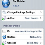 GV Mobile (Google Voice for iPhone)