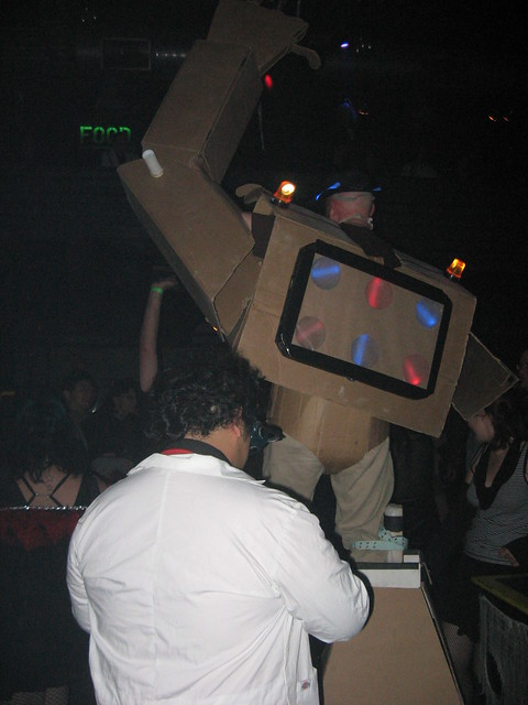 Cardboard Suit at DNA