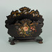 Japanned Victorian letter holder, c1850, LP535