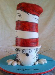 Cat In the Hat Cake - Dr. Seuss