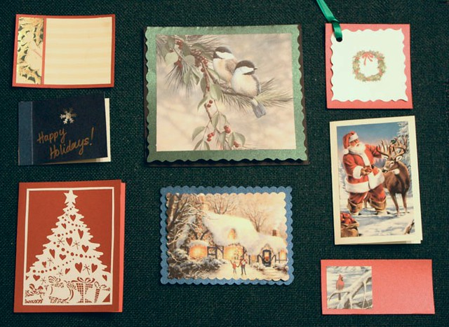 Eco Friendly Holiday Cards Tags Life At Cloverhill