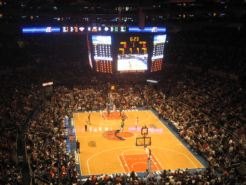 Boston Celtics v. NY Knicks 2009