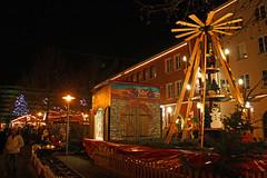 Neubrandenburg Weihnachten 2009 - Weberglockenmarkt, Pyramide