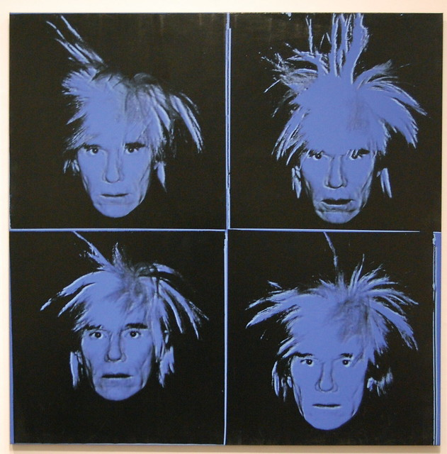 Andy Warhol Self Portrait 1986 Hirshhorn Museum And