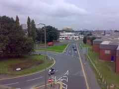 View from disused railway bridge, Domestic Street