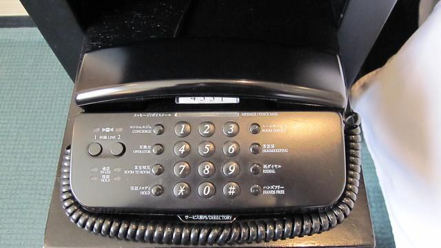 Photo:ベッドサイドの電話機 By つんつん