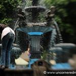 Girl in the Fountain - Juayua, El Salvador