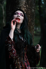 horror, goth subculture, fashion, fiction, photo shoot, lady, fictional character, beauty, portrait,