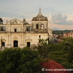 View of Leon's Cathedral - Nicaragua