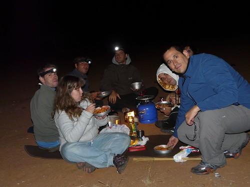 Foto acampada en África