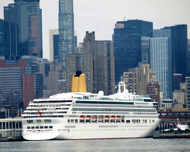 AURORA Cruise Ship Passenger Ship Terminal Hudson River