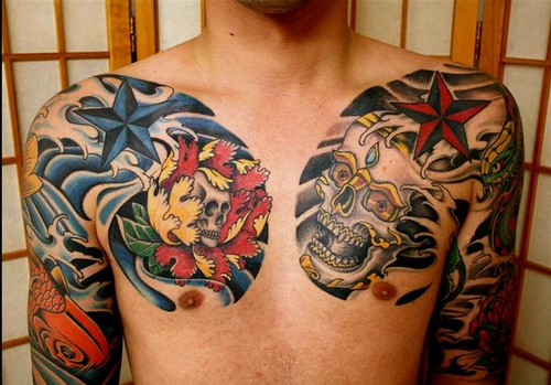 Chinese Chest Tattoo: Flickr - Photo Sharing