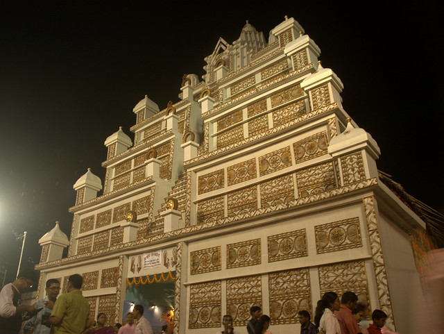 Bengali culture a gallery on flickr durga puja pandal thecheapjerseys Image collections