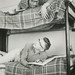 Male Students on Bunk Bed in Friley Hall Dorm Room, 1962 by Special Collections Department, ISU Library