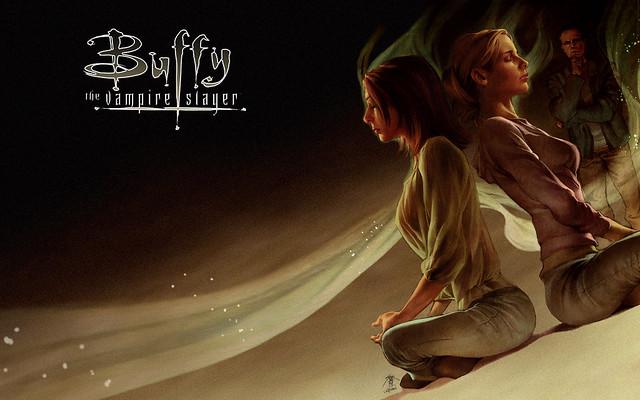 Buffy Amp Willow 1920x1200 Wallpaper Desktop By Jo Chen