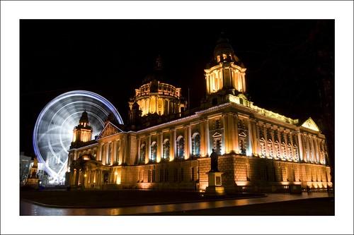 Belfast City Hall and Wheel