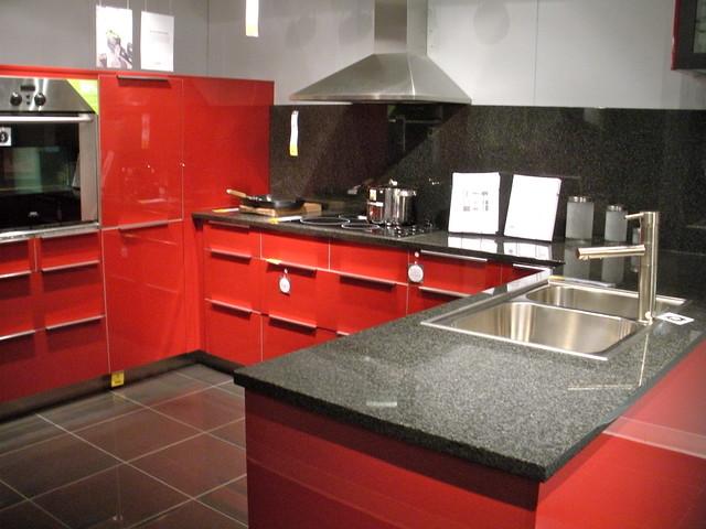Red Ikea Kitchen Island