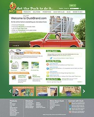 Duck Brand Website