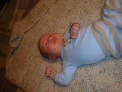 Isaac at 1 month
