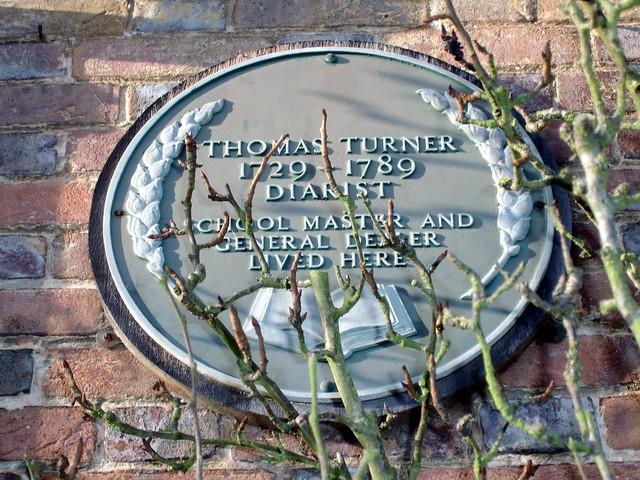 Photo of Thomas Turner grey plaque
