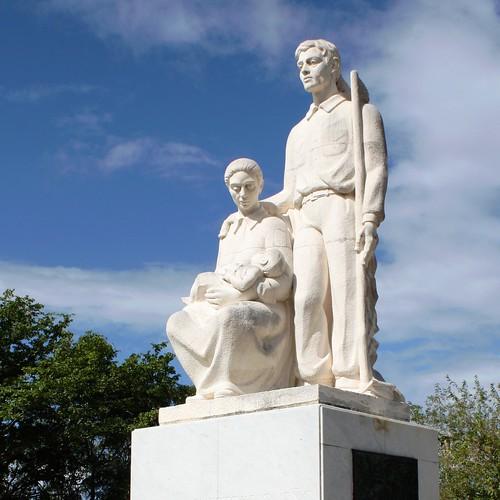 monument statue puerto puertorico el rico jibaro