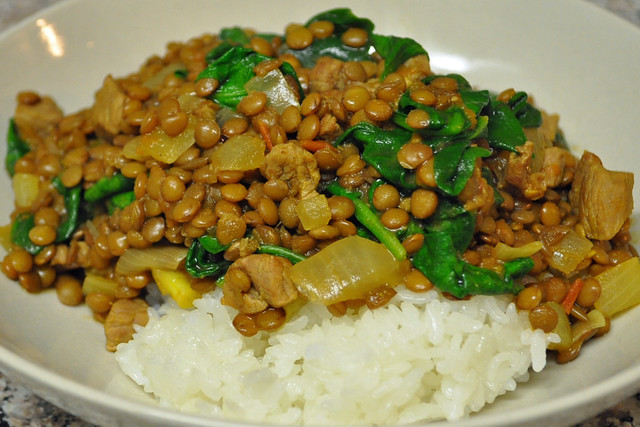 Lentils with Lamb and Spinach | Flickr - Photo Sharing!