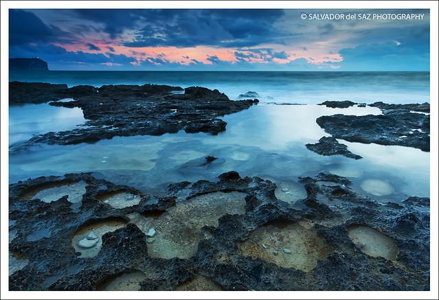A cloudy dawn at Cala Blanca II