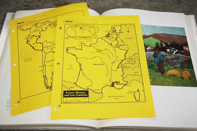 gauguin notebooking maps