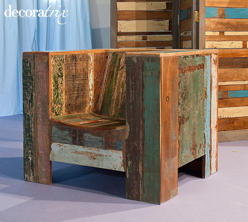 Photo - Muebles de madera reciclados ...