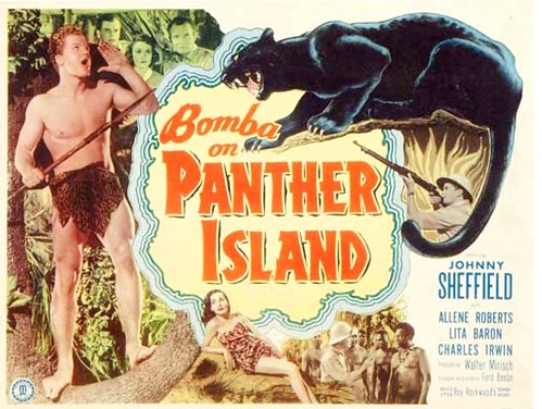 Johnny Sheffield, ''Bomba'' movie 1949 by Jack's Movie Mania