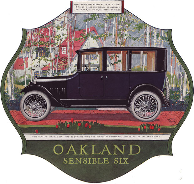 1921 Oakland Sensible Six