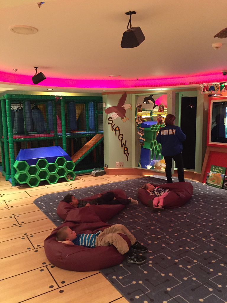 Kids Play Area on Ruby Princess
