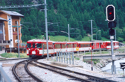 Täsch - Train to Zermatt