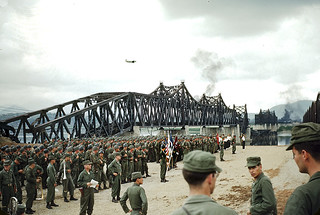 Han River Railroad Bridge Dedication Ceremony, Seoul
