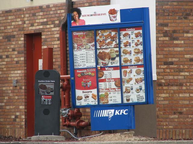 KFC menu board | Flickr - Photo Sharing!