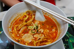 noodle soup(0.0), produce(0.0), meal(1.0), curry(1.0), kimchi jjigae(1.0), red curry(1.0), food(1.0), dish(1.0), laksa(1.0), soup(1.0), cuisine(1.0),