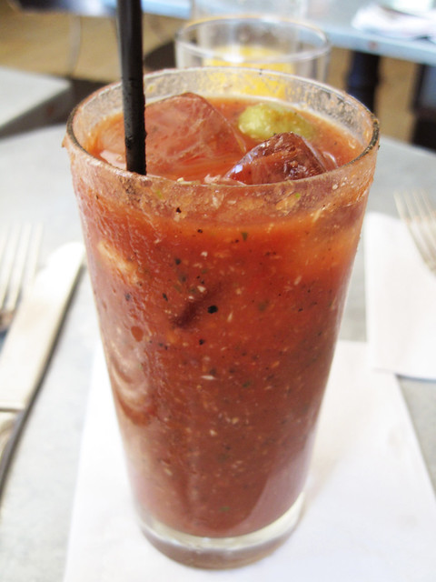 bloody mary @ smith & mills | Post up at Bionic Bites. | Flickr ...