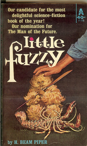 Little Fuzzy - H. Beam Piper - cover by Victor Kalin - 1st edition