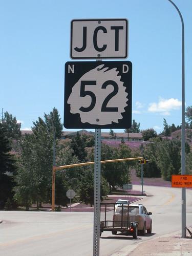 sign error indian northdakota roadsign 52 velva us52 stateroute52 stateroutesigns