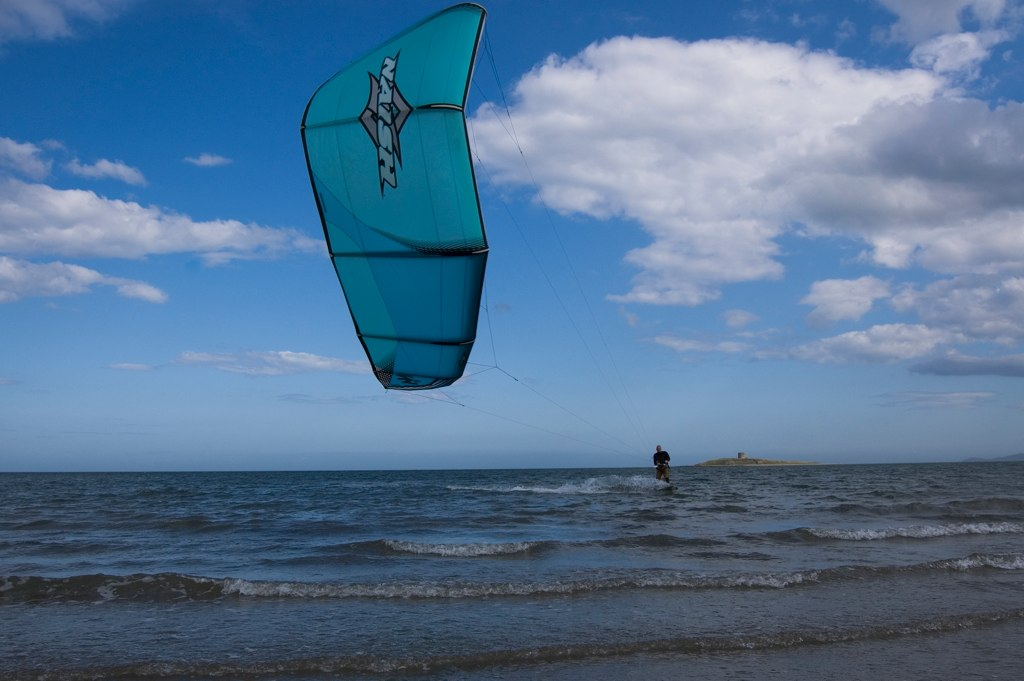 Kite Surfing, Skerries - 1