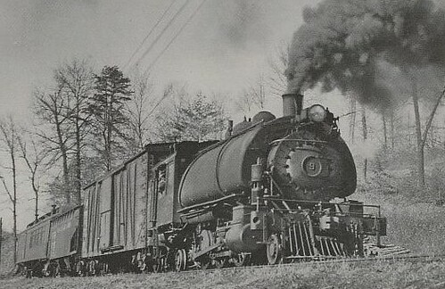 Nelson Amp Albemarle Railroad Virginia 1940 S From The Book